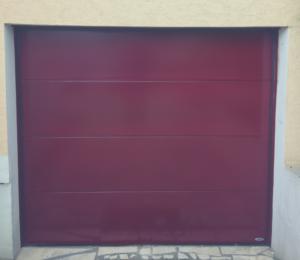 Pose porte de garage 95